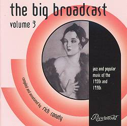 Big Broadcast: Jazz and Popular Music 1920's and 1930's, Vol. 3 | Dodax.co.uk