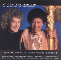 Contrasts: American Music for Flute and Harp | Dodax.at