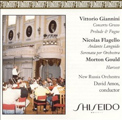 Giannini: Concerto Grosso; Flagello: Andante Languido: Morton Gould: Harvest | Dodax.at