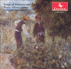 Songs of Debussy and Fauré | Dodax.fr