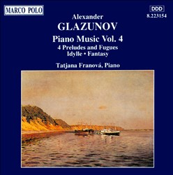 Glazunov: Piano Music, Vol. 4 | Dodax.es