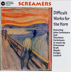 Screamers: Difficult Works for the Horn   Dodax.es