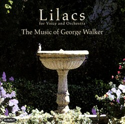 Lilacs: The Music of George Walker | Dodax.ch