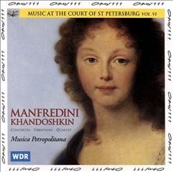 Music at the Court of St. Petersburg, Vol. 6 | Dodax.de