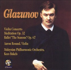Glazunov: Violin Concerto; Meditation; The Seasons | Dodax.es