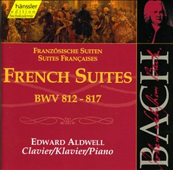 Bach: French Suites, BWV 812-817 | Dodax.ca
