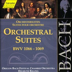 Bach: Orchestral Suites, BWV 1066-1069 | Dodax.ca
