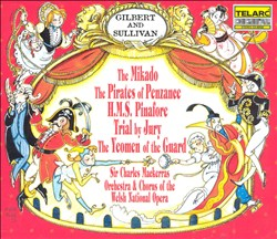 Mikado/Pirates of Penzance/HMS Pinafore/Trial by Jury/The Yeomen of the Guard | Dodax.ch