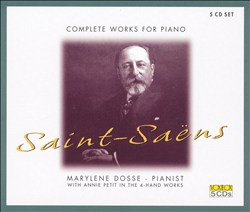 Saint-Saëns: Complete Works for Piano   Dodax.es