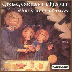 Gregorian Chant - Early Recordings | Dodax.at