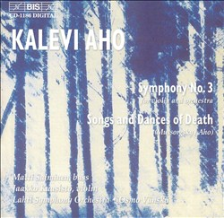 Kalevi Aho: Symphony No. 3; Mussorgsky; Aho: Songs and Dances of Death | Dodax.at
