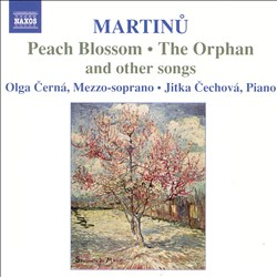 Martinu: Peach Blossom, The Orphan, and Other Songs | Dodax.ch