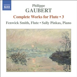 Philippe Gaubert: Complete Works for Flute, Vol. 3 | Dodax.nl