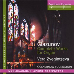 Glazunov: Complete Works for Organ | Dodax.es