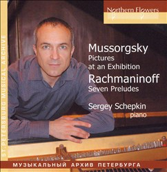 Mussorgsky: Pictures at an Exhibition; Rachmaninoff: Seven Preludes   Dodax.ca