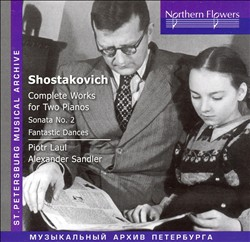 Shostakovich: Complete Works for Two Pianos   Dodax.ca