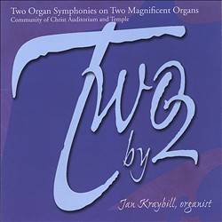 Two by 2:  Two Organ Symphonies on Two Magnificent Organs | Dodax.ch