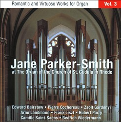 Jane Parker-Smith at the Organ of the Church of St. Gudula in Rhede | Dodax.at
