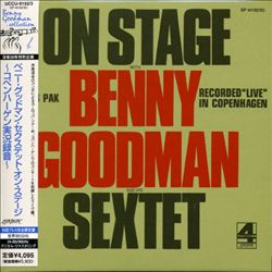 On Stage with Benny Goodman and His Sextet | Dodax.com