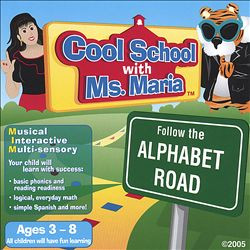 Cool School with Ms. Maria: Follow the Alphabet Road | Dodax.fr