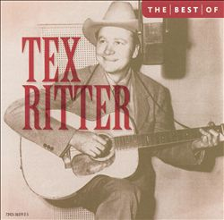 Best of Tex Ritter [Collectables]   Dodax.nl