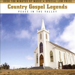 Country Gospel Legends: Peace in the Valley [Slimeline Case]   Dodax.com