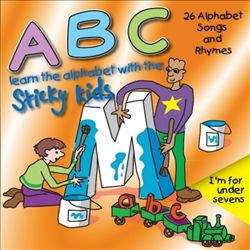 A-B-C-Learn the Alphabet With the Sticky Kids | Dodax.es