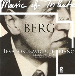 Music of Tribute, Vol. 6: Berg | Dodax.ca