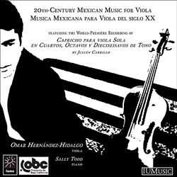 20th-Century Mexican Music for Viola | Dodax.nl