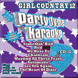 Party Tyme Karaoke: Girl Country, Vol. 12 | Dodax.fr