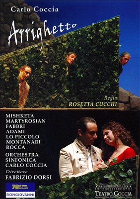 Carlo Coccia: Arrighetto [DVD Video] | Dodax.at