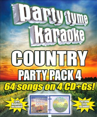 Party Tyme Karaoke: Country Party Pack, Vol. 4   Dodax.nl
