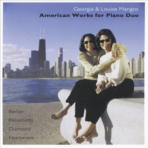 American Works for Piano Duo | Dodax.es