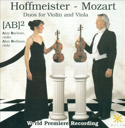 Hoffmeister, Mozart: Duos for Violin and Viola | Dodax.at