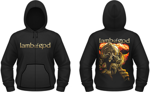 Lamb Of God - Kapuzensweatshirt (XL) Anime | Dodax.ch