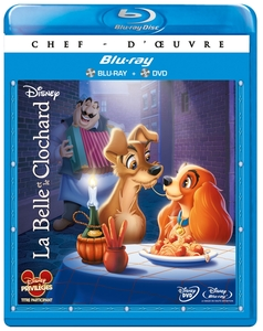 La Belle et le Clochard - Combo Box (BluRay & DVD) | Dodax.ca