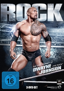 "The Rock: The epic journey of Dwayne ""The Rock"" Johnson, 3 DVDs 