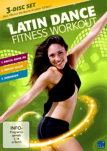 Latin Dance Fitness Workout, 3 DVDS | Dodax.at