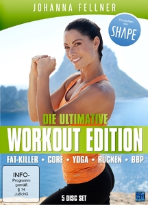 Die ultimative Workout Edition, 5 DVDs | Dodax.at