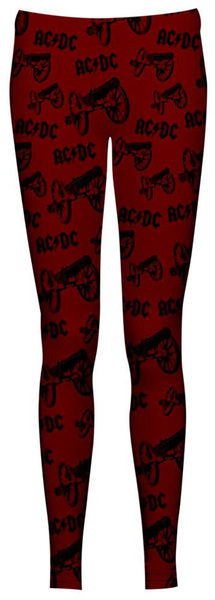 For Those About To Rock Leggings Size (10/12)   Dodax.es