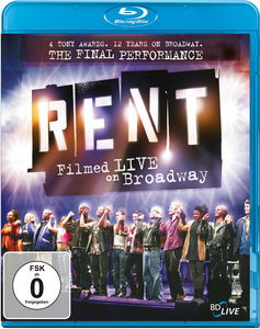 Rent: Filmed Live On Broadway | Dodax.co.uk