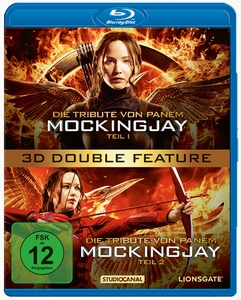 Die Tribute von Panem - Mocking Jay 1&2 Double Feature 3D, 2 Blu-rays | Dodax.at