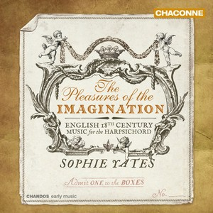 Pleasures of the Imagination: English 18th Century Music for the Harpsichord | Dodax.fr