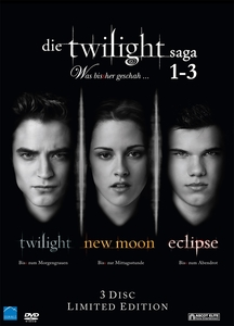 Die Twilight Saga Teil 1-3 Box | Dodax.pl