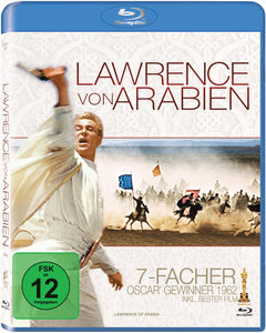 Lawrence von Arabien, Restored Version, 2 Blu-rays | Dodax.ch