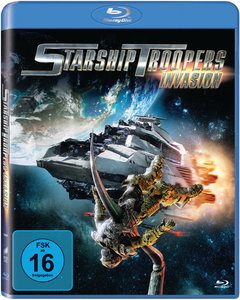 Starship Troopers: Invasion, 1 Blu-ray | Dodax.at