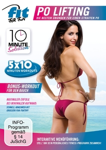 10 Minute Solution - Po Lifting, 1 DVD | Dodax.ch