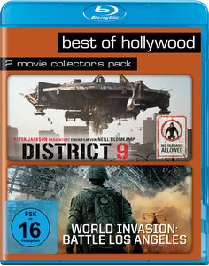 District 9 / World Invasion: Battle Los Angeles, 2 Blu-rays | Dodax.ch