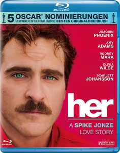 her - A Spike Jonze Love Story Blu ray | Dodax.at