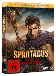 SPARTACUS - WAR OF THE DAMNED | Dodax.co.uk